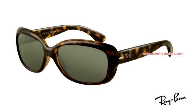 9bc121adb6 cheap fake Ray Ban RB4101 Jackie Ohh Sunglasses tortoise frame   green lens