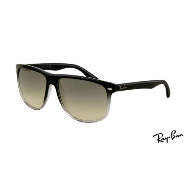 04d6c597b39 ... official ray ban rb4147 wayfarer sunglasses black frame gray lens 7e197  94505
